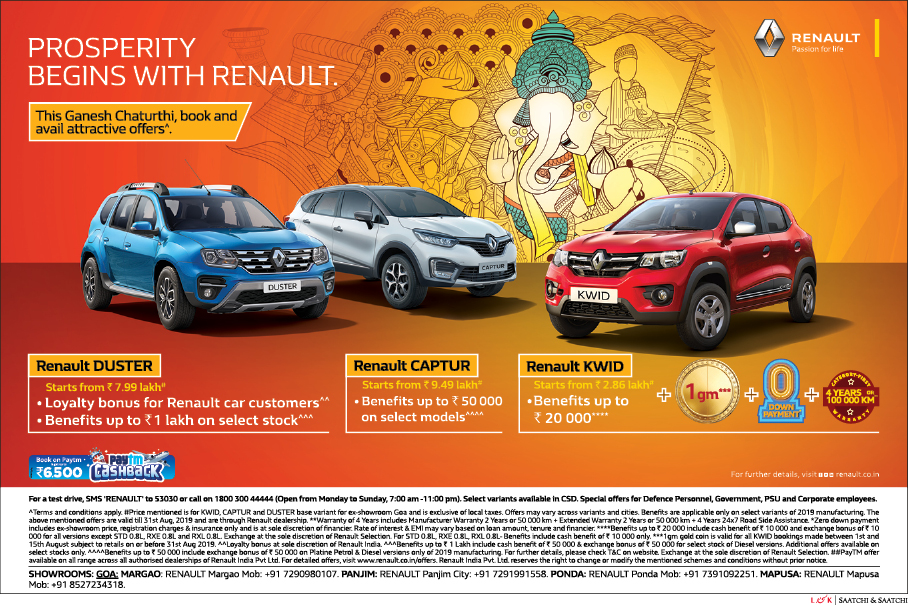 PROSPERITY BEGINS WITH RENAULT